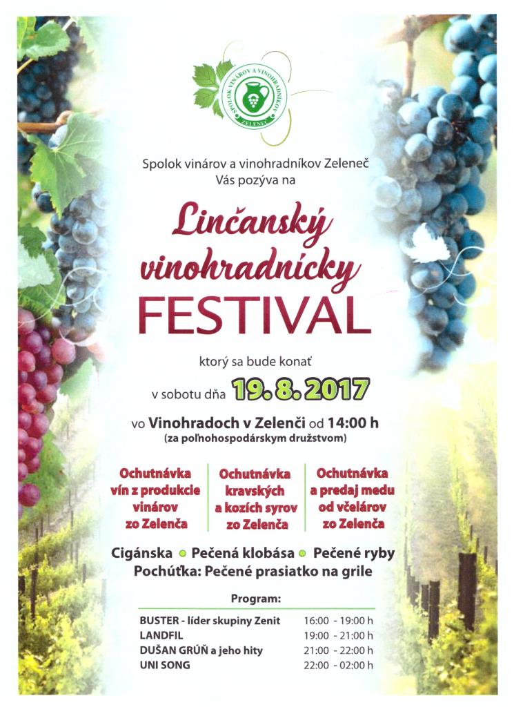 Linčanský vinohradnícky festival 1