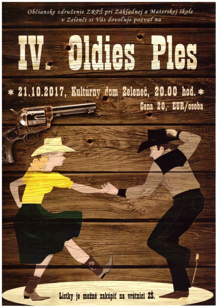 IV. Oldies Ples