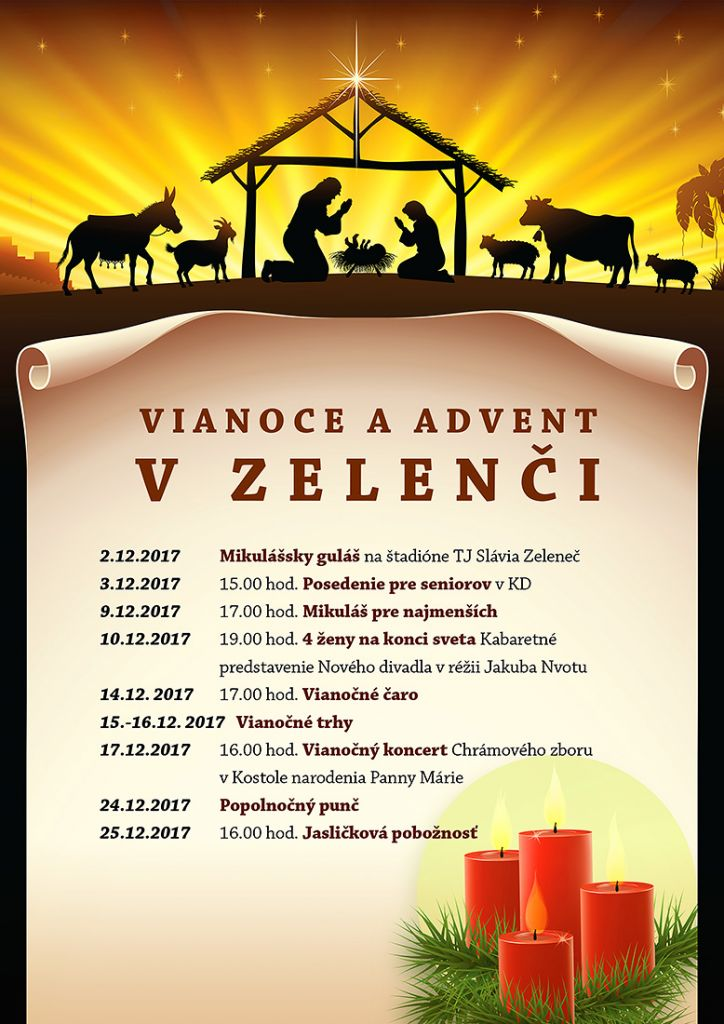 ADVENT A VIANOCE V ZELENČI 1
