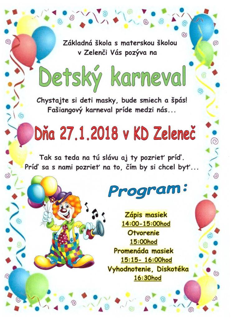 Detský karneval 1