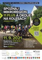 Spoznaj mikroregión 11Plus a okolie na kolesách - jesenná časť 1